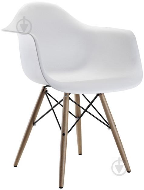 Стул Style white с подлокотниками - фото 1