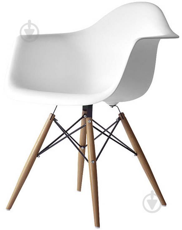 Стул Style white с подлокотниками - фото 2
