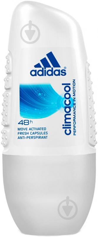 Антиперспирант для женщин Adidas Action 3 Cool & Care W Climacool 50 мл шариковый - фото 1
