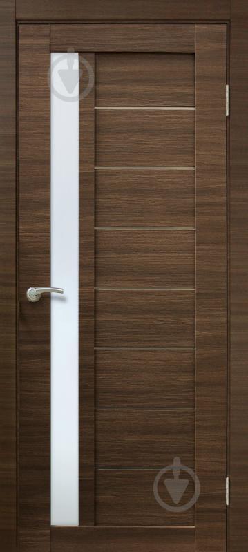 Дверне полотно ОМіС Cortex 09 ПО 700 мм дуб амбер лайн - фото 1
