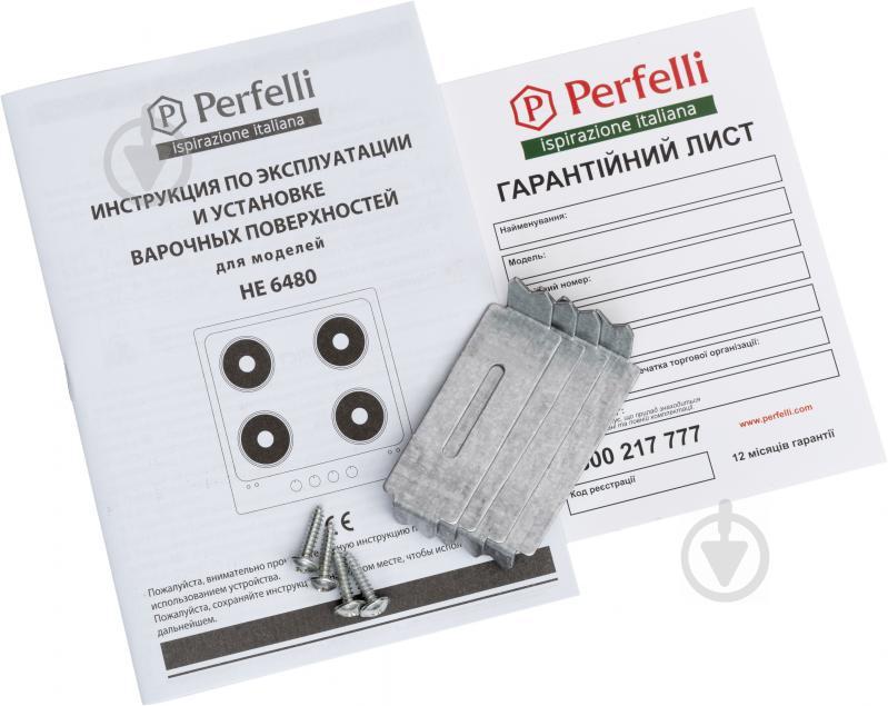 Варильна поверхня Perfelli HE 6480 WH - фото 5