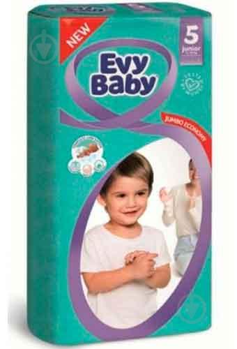 Підгузки Evy Baby Джуніор Стандартна упаковка 11-25 кг 20 шт. - фото 1