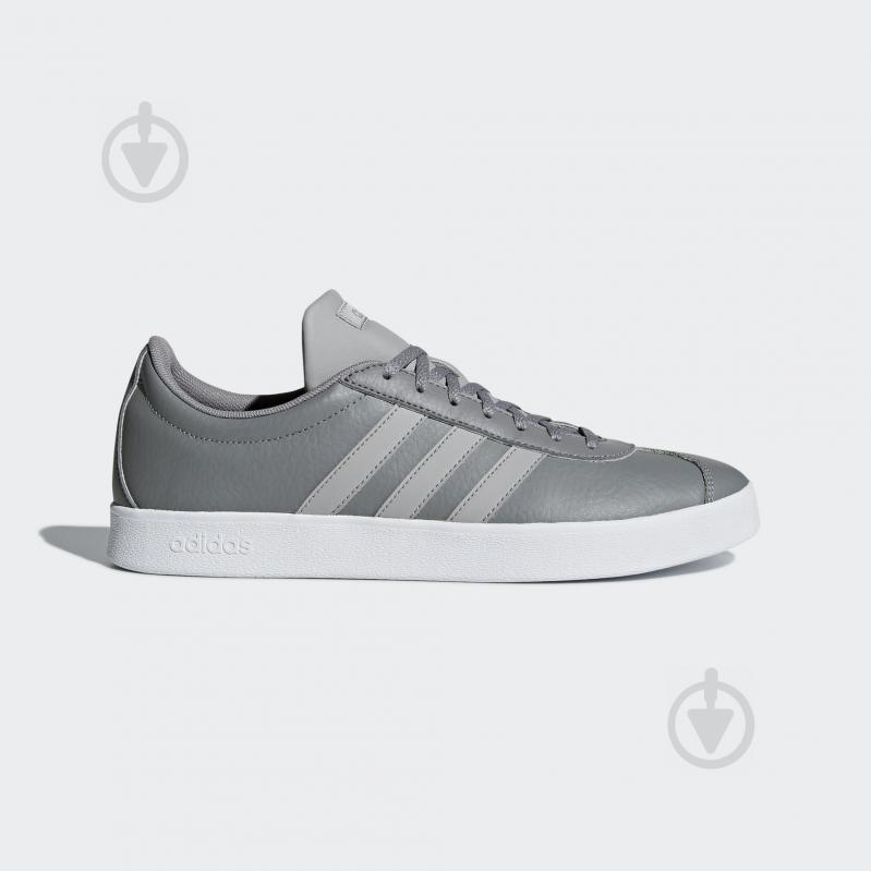 Кроссовки Adidas VL COURT 2.0 B43818 р.9 серый - фото 1