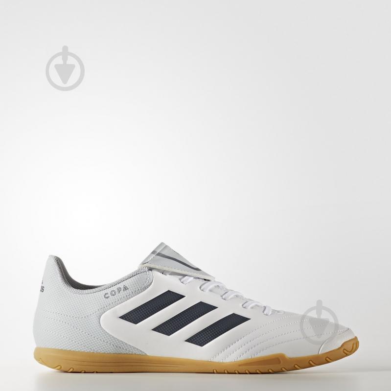 Бутсы Adidas Copa 17.4 IN S77149 р. 10,5 белый - фото 1