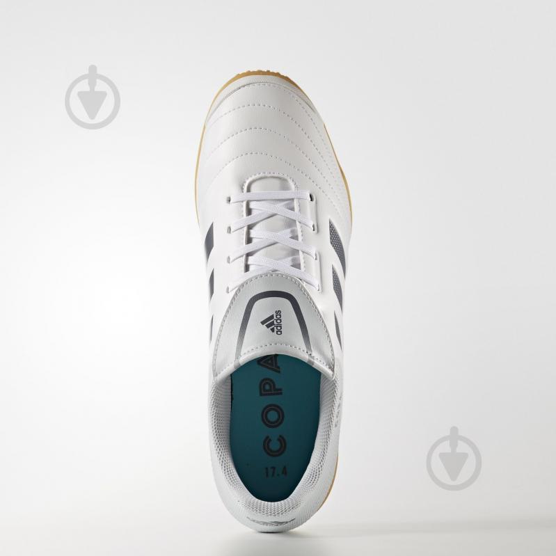 Бутсы Adidas Copa 17.4 IN S77149 р. 10,5 белый - фото 2