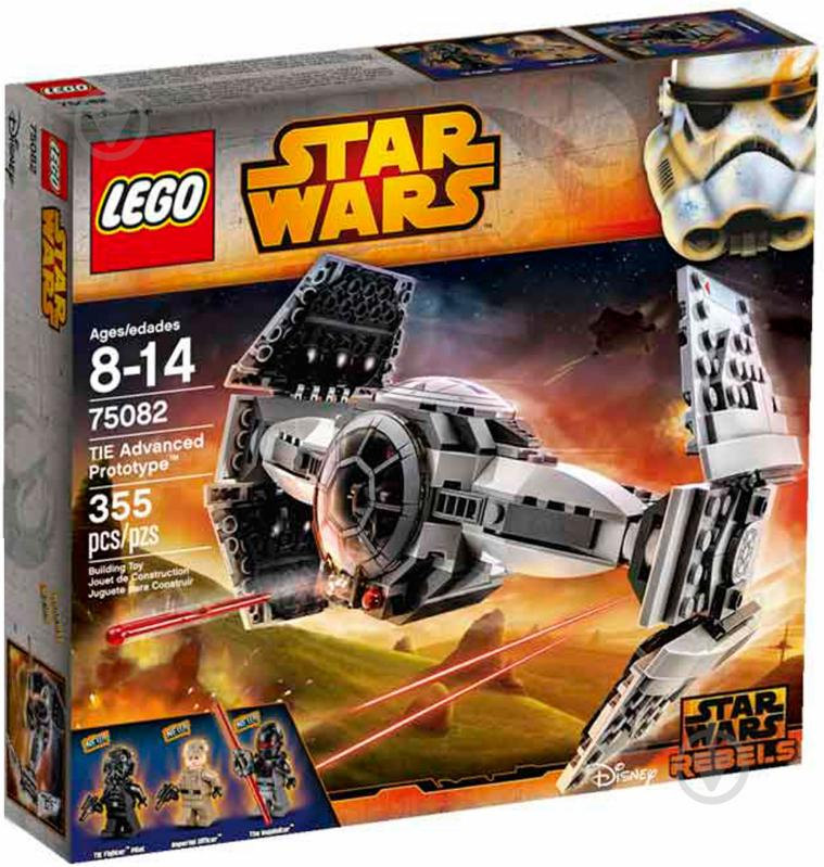 Конструктор LEGO Star Wars Улучшенный прототип TIE-истребителя 75082 - фото 1