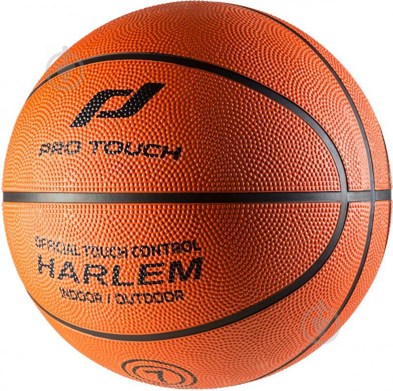 Баскетбольный мяч Pro Touch Harlem оранжевый 117871-219 р. 7 - фото 1