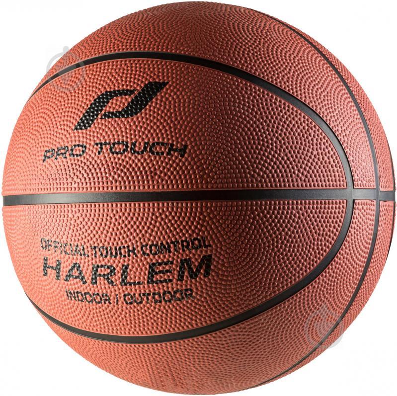 Баскетбольний м'яч Pro Touch Harlem коричневий 117871-905118 р. 6 - фото 1