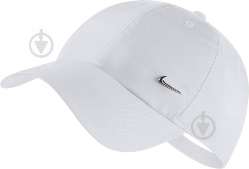 cc7da2f7b0bcf2 Купити. Бейсболка Nike U NK H86 CAP METAL SWOOSH 943092-100 OS білий - фото  1