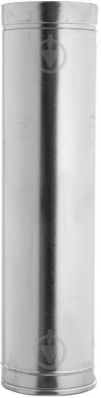 Труба димохідна двостінна н/оц ф180/250 0,5 м VL - фото 1