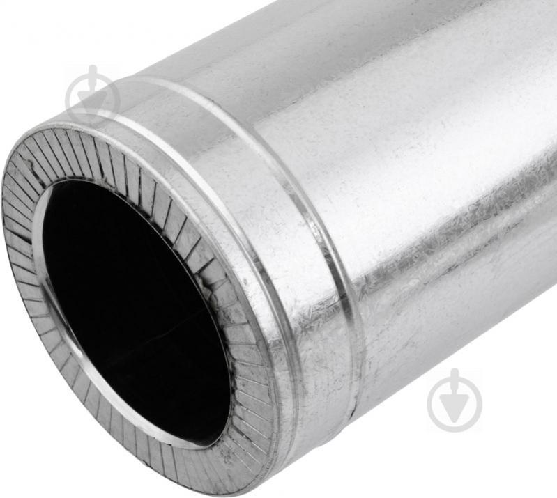 Труба димохідна двостінна н/оц ф180/250 0,5 м VL - фото 2