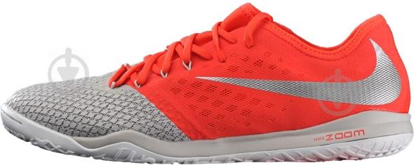 Бутси Nike ZOOM HYPERVENOM 3 PRO IC AJ3804-060 10 сірий - фото 1