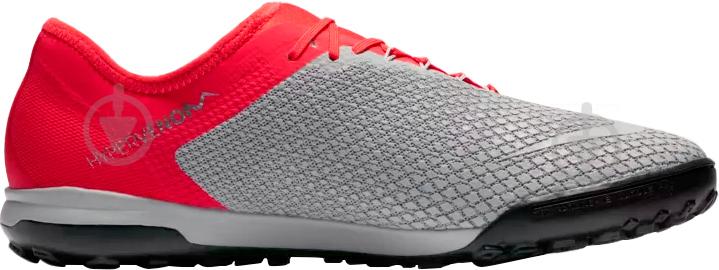 Бутси Nike ZOOM HYPERVENOM 3 PRO TF AJ3817-060 р. 10 сірий - фото 2