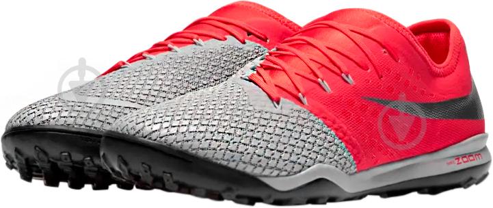 Бутси Nike ZOOM HYPERVENOM 3 PRO TF AJ3817-060 р. 10 сірий - фото 1