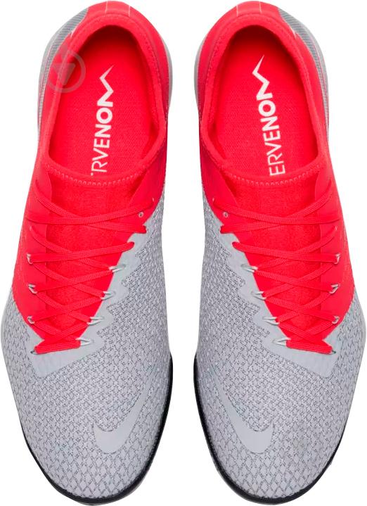Бутси Nike ZOOM HYPERVENOM 3 PRO TF AJ3817-060 р. 10 сірий - фото 4