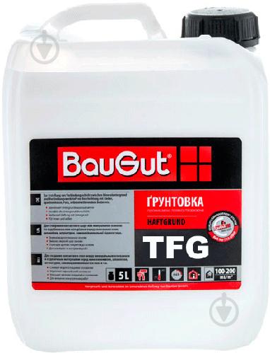 Грунтовка глубокопроникающая BauGut TFG 5 л - фото 1