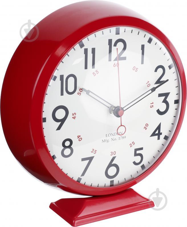 7517fc86 Часы настольные Newstep HYWI132DE RD с кварцевым механизмом - фото 2