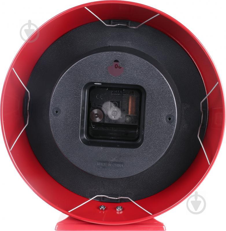 5559813a Часы настольные Newstep HYWI132DE RD с кварцевым механизмом - фото 3