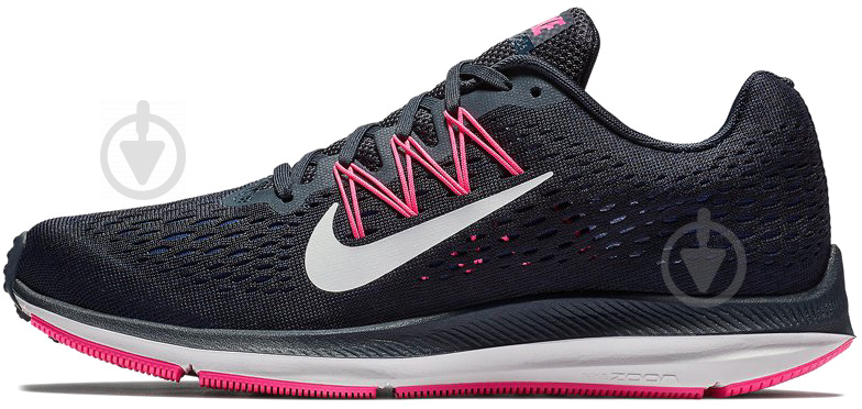 Кроссовки Nike WMNS ZOOM WINFLO 5 AA7414-401 р. 10 синий - фото 1