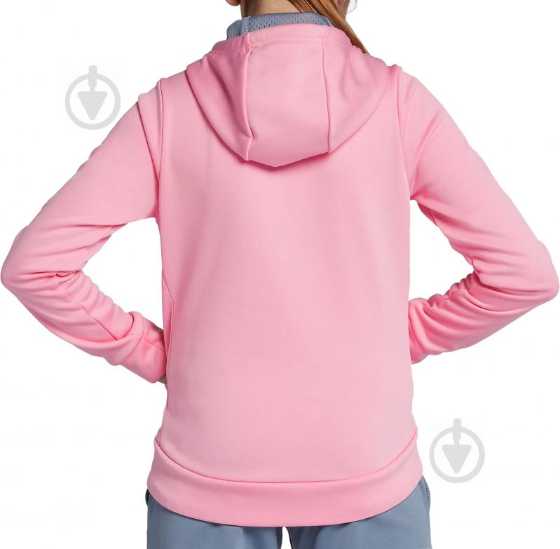 Джемпер Nike G NK THERMA HOODIE PO ENERGY р. L красный 939536-654 - фото 3