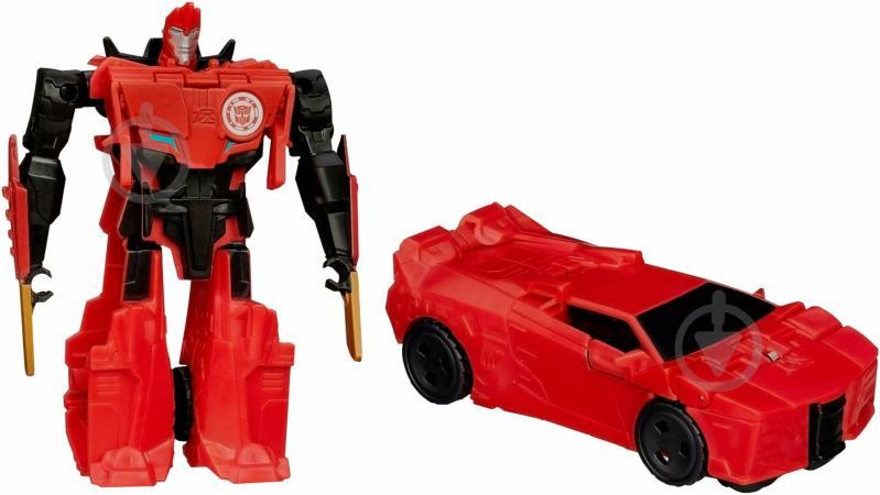 Робот-трансформер Hasbro Роботс-ин-Дисгайс Уан-Стэп Sideswipe B0068_B0901 - фото 1