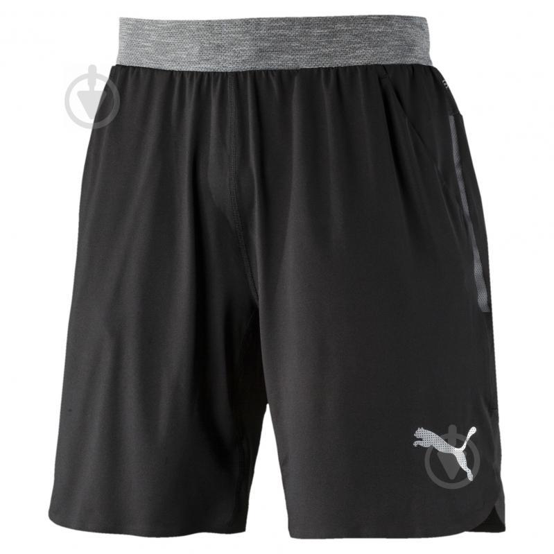 Шорты Puma Bonded Tech Short 9' 51564601 р. XL черный - фото 1