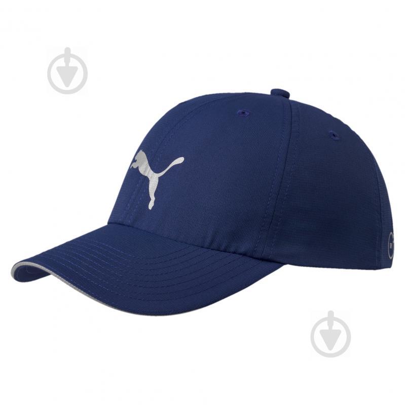 Бейсболка Puma 5291114 S синий - фото 1