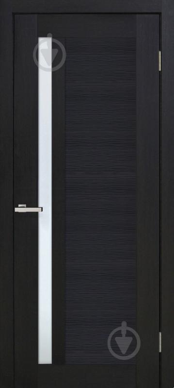 Дверне полотно ОМіС Optima6 СС 800 мм венге - фото 1