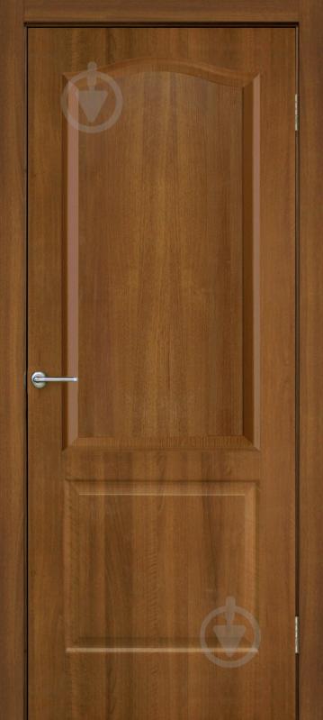 Дверне полотно ПВХ ОМіС Класика ПГ 600 мм вільха європейська - фото 1