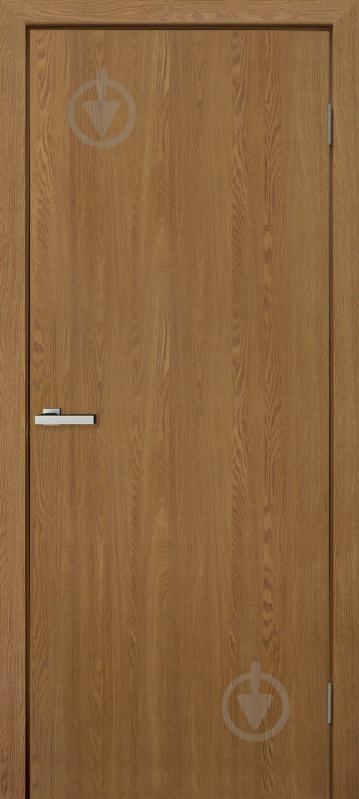 Дверное полотно ОМиС МДФ глухое ПГ 800 мм ольха европейская - фото 1