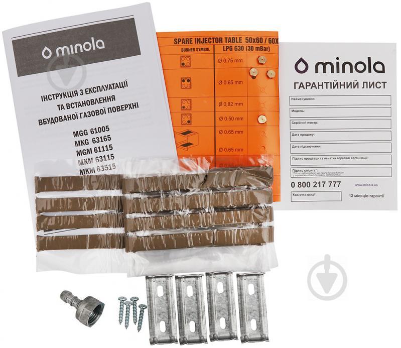 Варильна поверхня Minola MKM 63515 I - фото 6