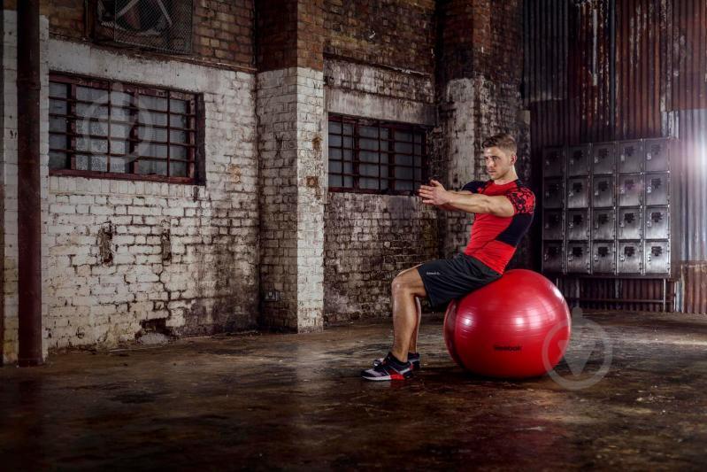 Мяч для фитнеса Reebok d75 RAB-11017RD - фото 2