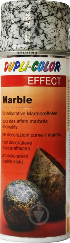 Емаль аерозольна Dupli-Color Effect marble білий напівглянець 200 мл - фото 1