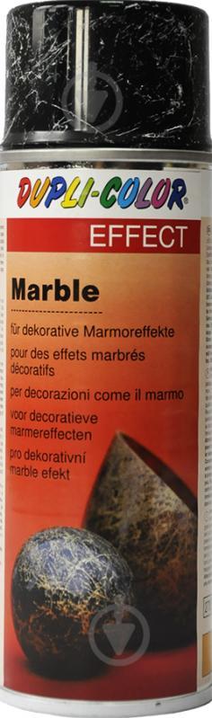 Эмаль аэрозольная Dupli-Color Effect marble черный полуглянец 200 мл - фото 1