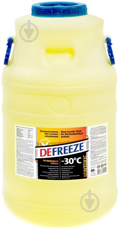 Теплоноситель для систем отопления Defreeze -30С, 40 л. - фото 1