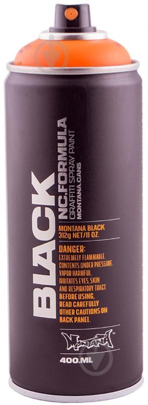 Фарба аерозольна Montana BLACK 2085 хелуін мат 400 мл - фото 1