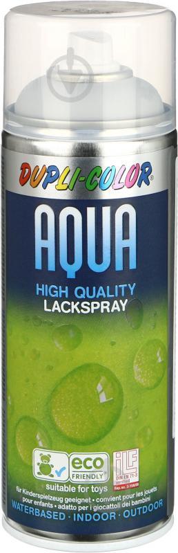 Грунт аэрозольный Aqua Motip серый 350 мл - фото 1