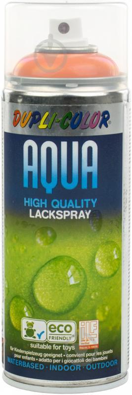 Емаль аерозольна Dupli-Color Aqua RAL 2003 помаранчевий глянець 350 мл - фото 1