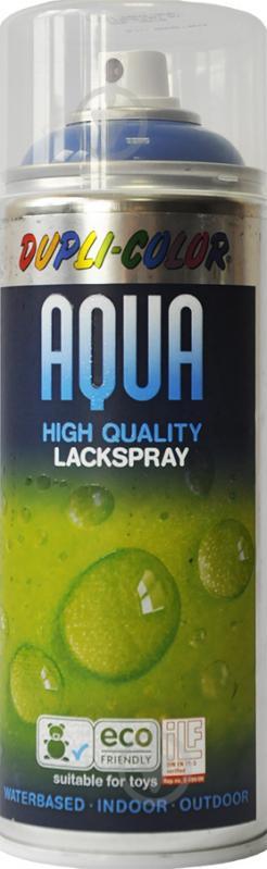 Емаль аерозольна Aqua RAL 5010 Dupli-Color синій 350 мл - фото 1