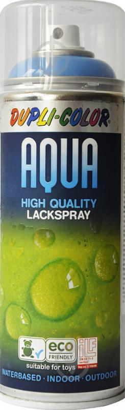 Емаль аерозольна Aqua RAL 5012 Dupli-Color світло-синій 350 мл - фото 1