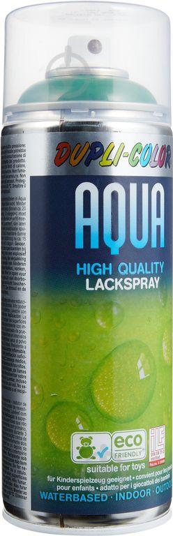 Эмаль аэрозольная Dupli-Color Aqua RAL 6002 зеленый глянец 350 мл - фото 1