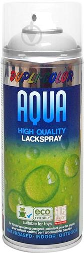 Емаль аерозольна Aqua RAL 7001 Dupli-Color сірий 350 мл - фото 1