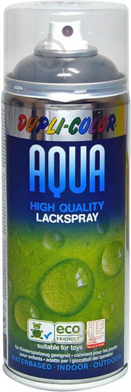 Эмаль аэрозольная Aqua RAL 7016 Dupli-Color антрацитовый 350 мл - фото 1