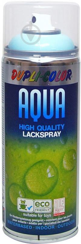 Емаль аерозольна Aqua Dupli-Color синій лід 350 мл - фото 1