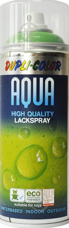 Эмаль аэрозольная Aqua Dupli-Color весенне-зеленый 350 мл - фото 1