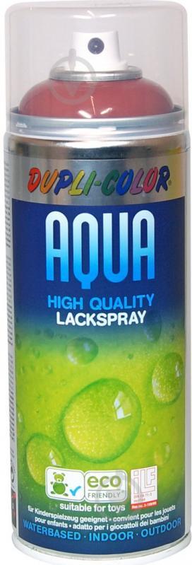 Эмаль аэрозольная Dupli-Color Aqua терракотовый глянец 350 мл - фото 1