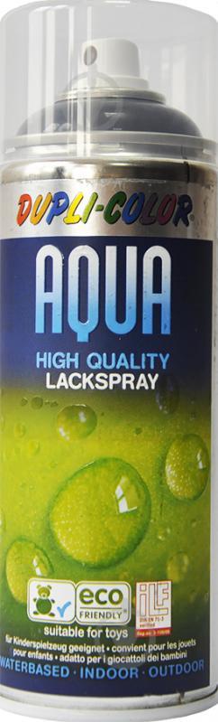 Эмаль аэрозольная Aqua RAL 9005 Dupli-Color черный 350 мл - фото 1