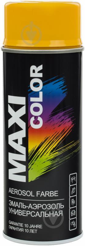 Эмаль аэрозольная RAL 1004 Maxi Color золотисто-желтый 400 мл - фото 1