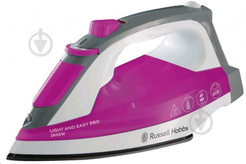 Утюг Russell Hobbs 23591-56 Light and Easy Pro - фото 1