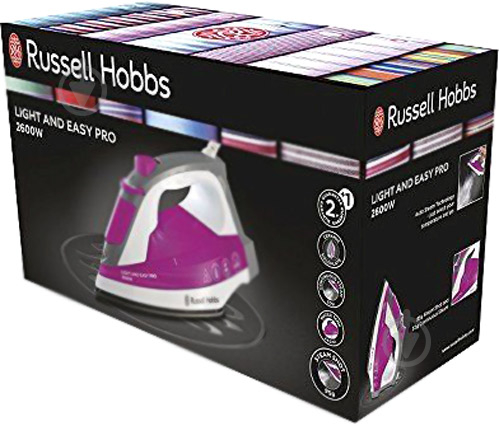 Утюг Russell Hobbs 23591-56 Light and Easy Pro - фото 4